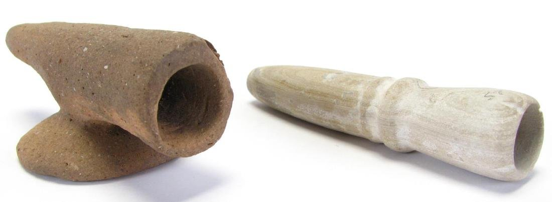 Native American Stone and Clay Pipes