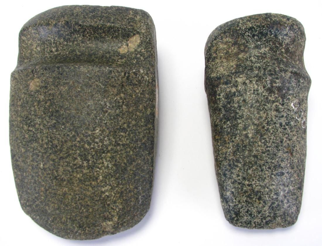 Two Native American Stone Axes