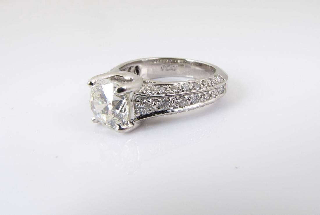 Platinum Diamond Ring, 1.92CT