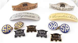 Rock Island and Southern Railroad Badges