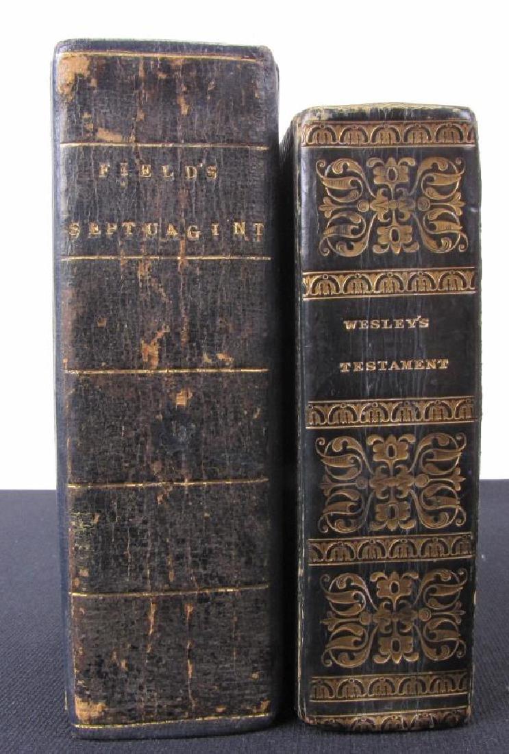 Two, Antique Religious Texts, Septuagint, Wesley