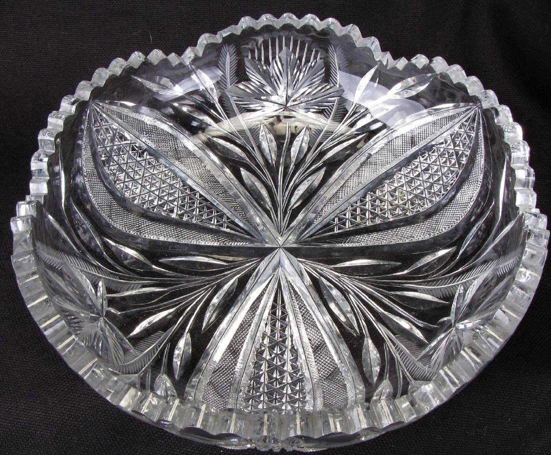 Group of Fine Cut Glass Tableware - 2