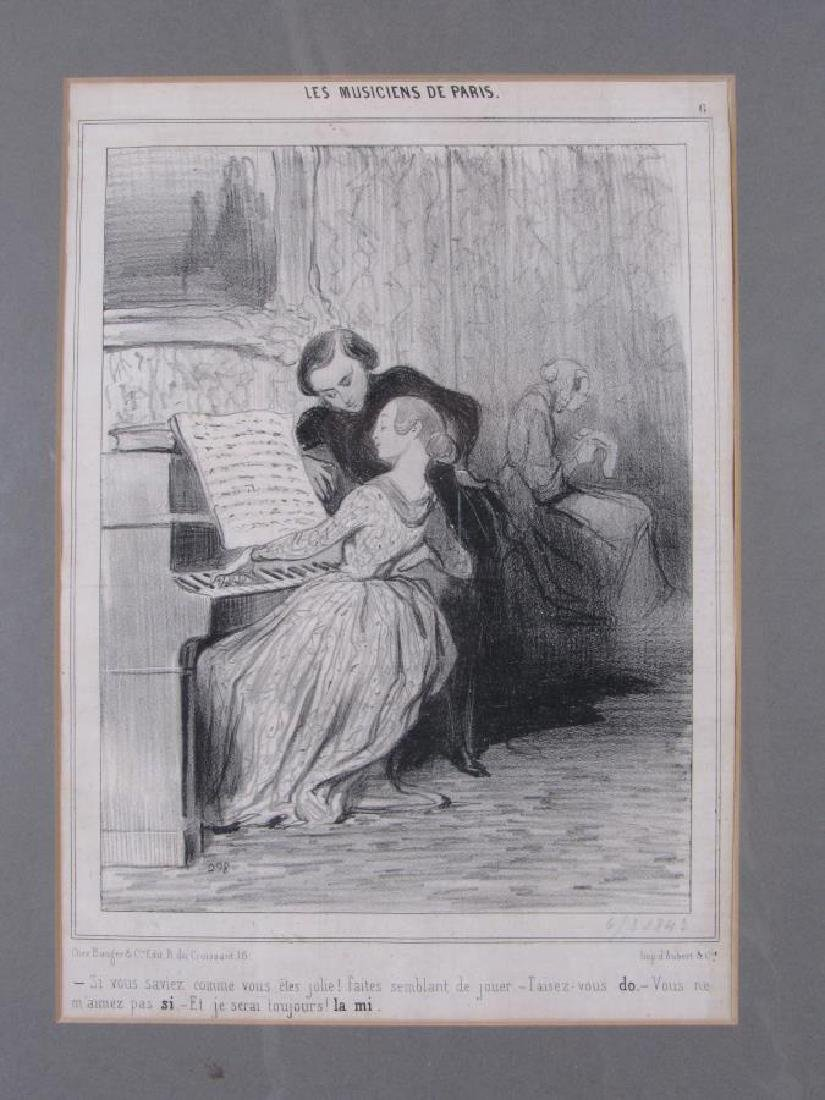 Group of Three Honore Daumier French Prints - 4