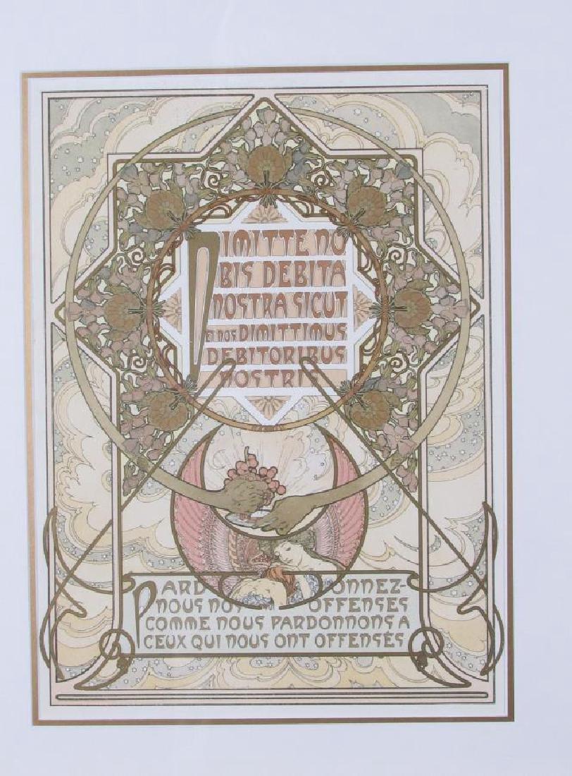 Set of Four Alphonse Mucha Prints - 2