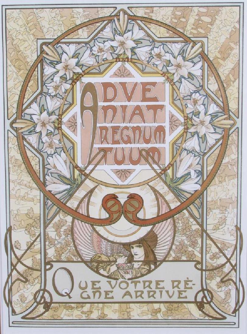Set of Four Alphonse Mucha Prints - 3