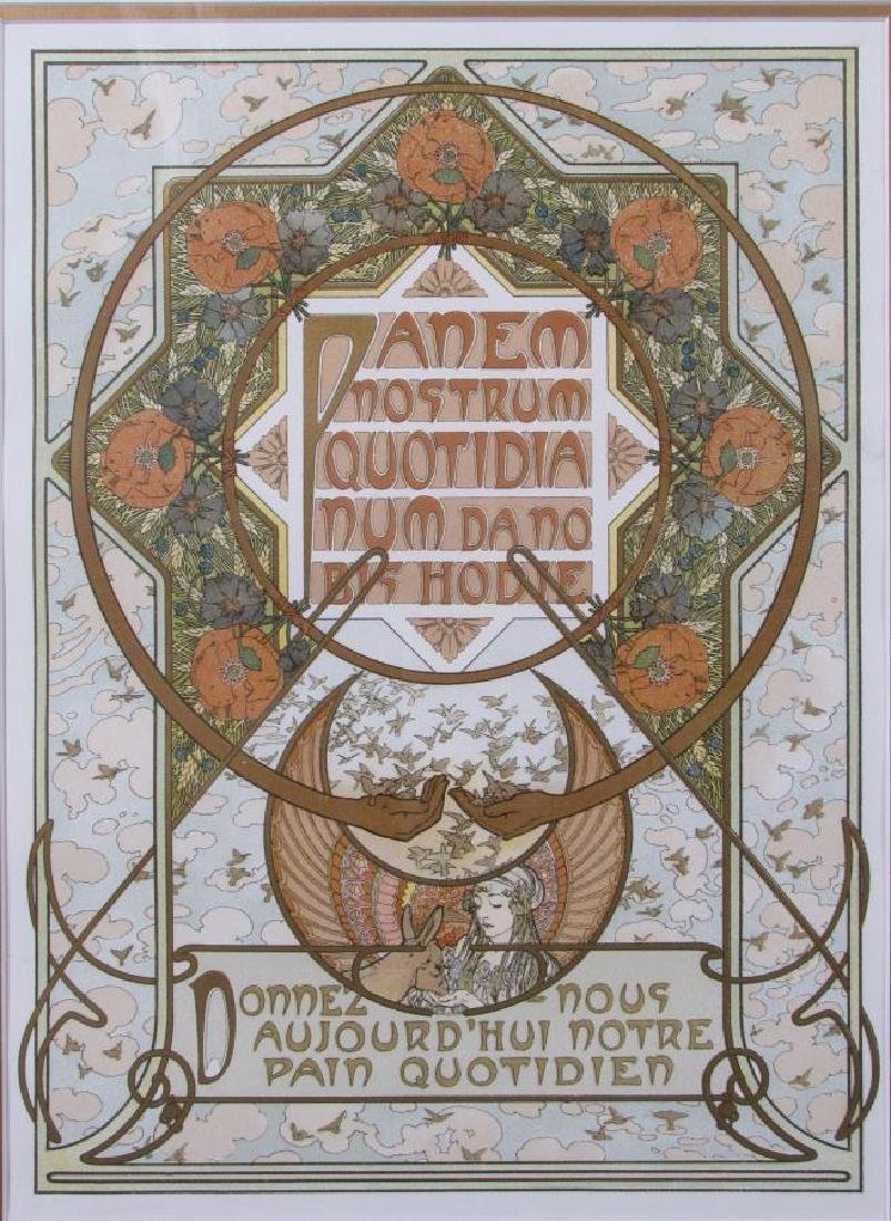 Set of Four Alphonse Mucha Prints - 5