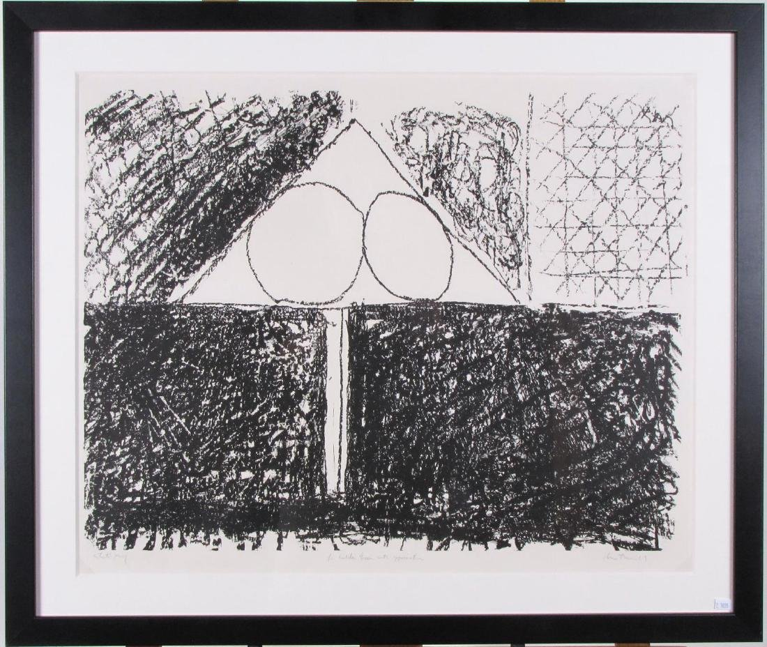 "Robert Motherwell Lithograph, ""Madrid, Suite #9"" - 2"
