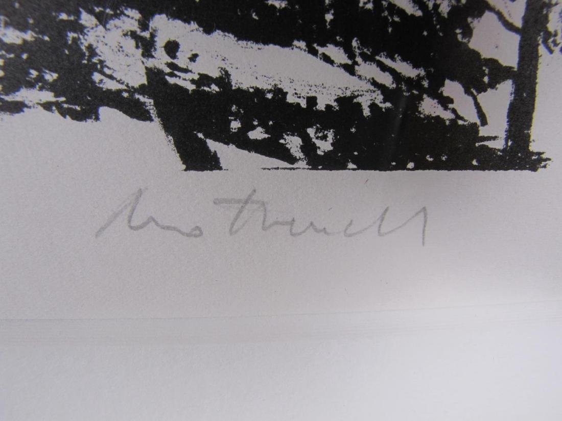 "Robert Motherwell Lithograph, ""Madrid, Suite #9"" - 5"