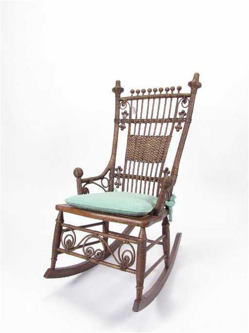- Antique Victorian Rocking Chair