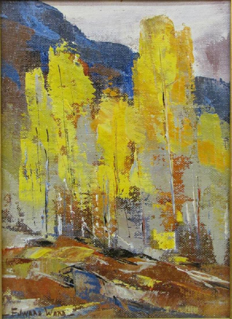 Edward N Ward 9x7 O/B Fall Landscape