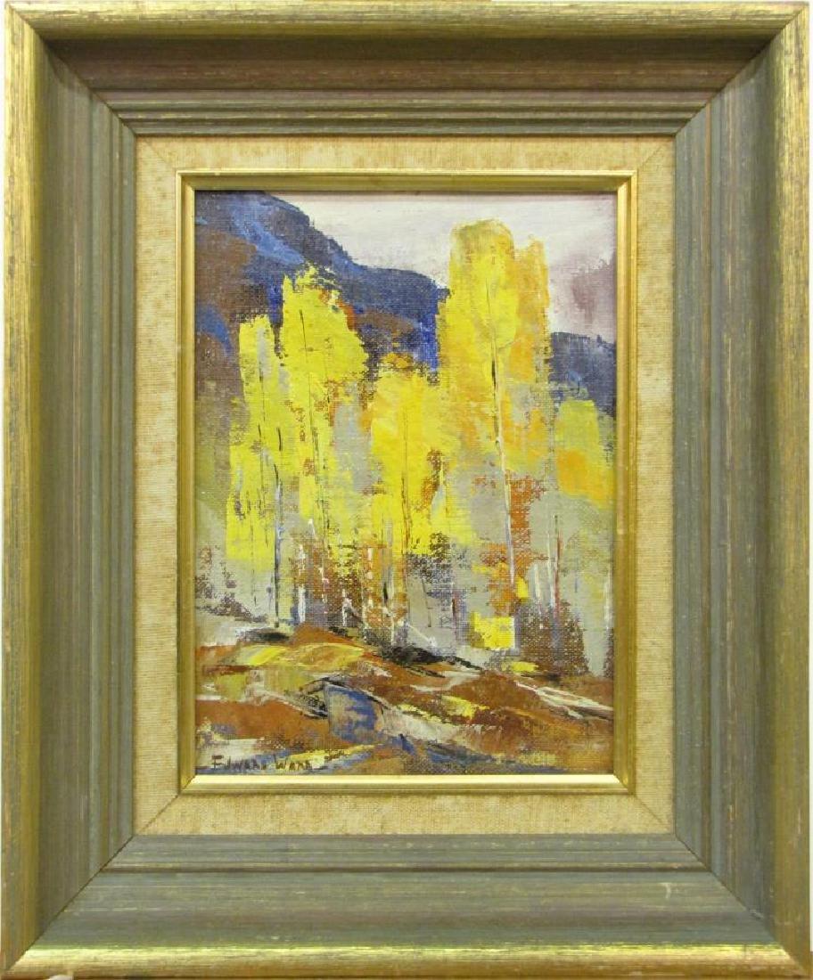 Edward N Ward 9x7 O/B Fall Landscape - 2