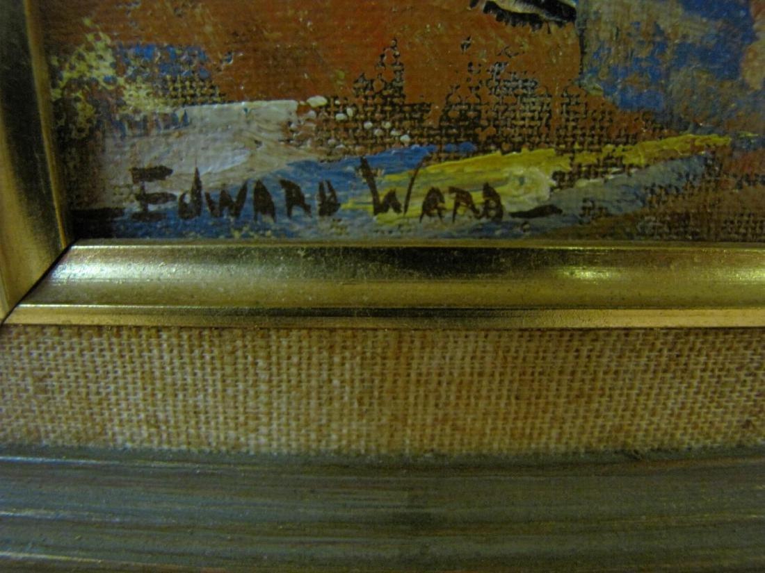 Edward N Ward 9x7 O/B Fall Landscape - 3