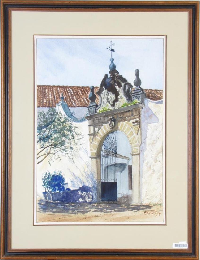 """Crawford Donnelly 20x14 WC """"Spanish Gate"""" - 2"""