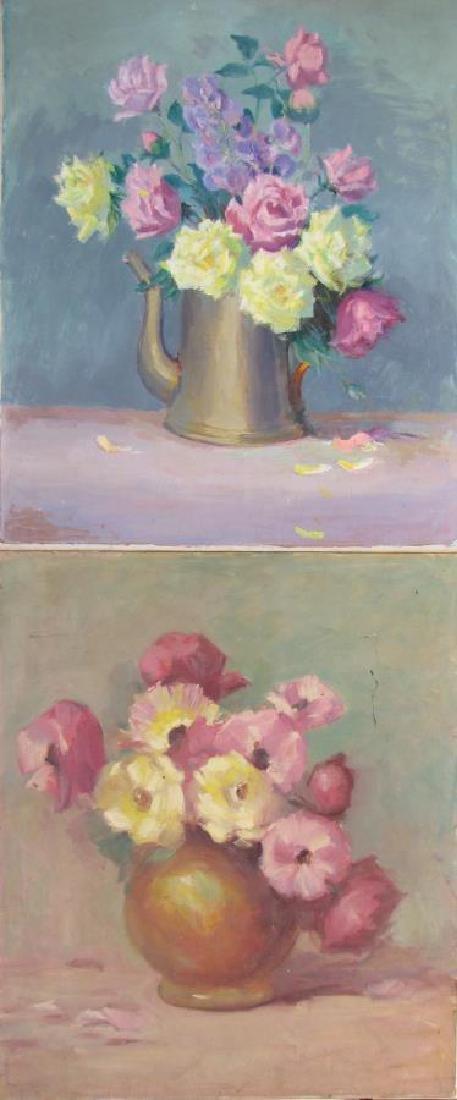 Alton Coffey 24x20 O/B (2) Floral Still Lifes