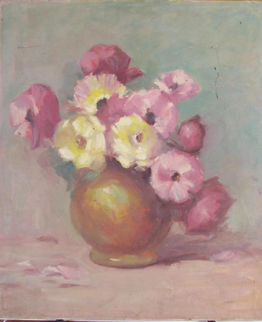 Alton Coffey 24x20 O/B (2) Floral Still Lifes - 2