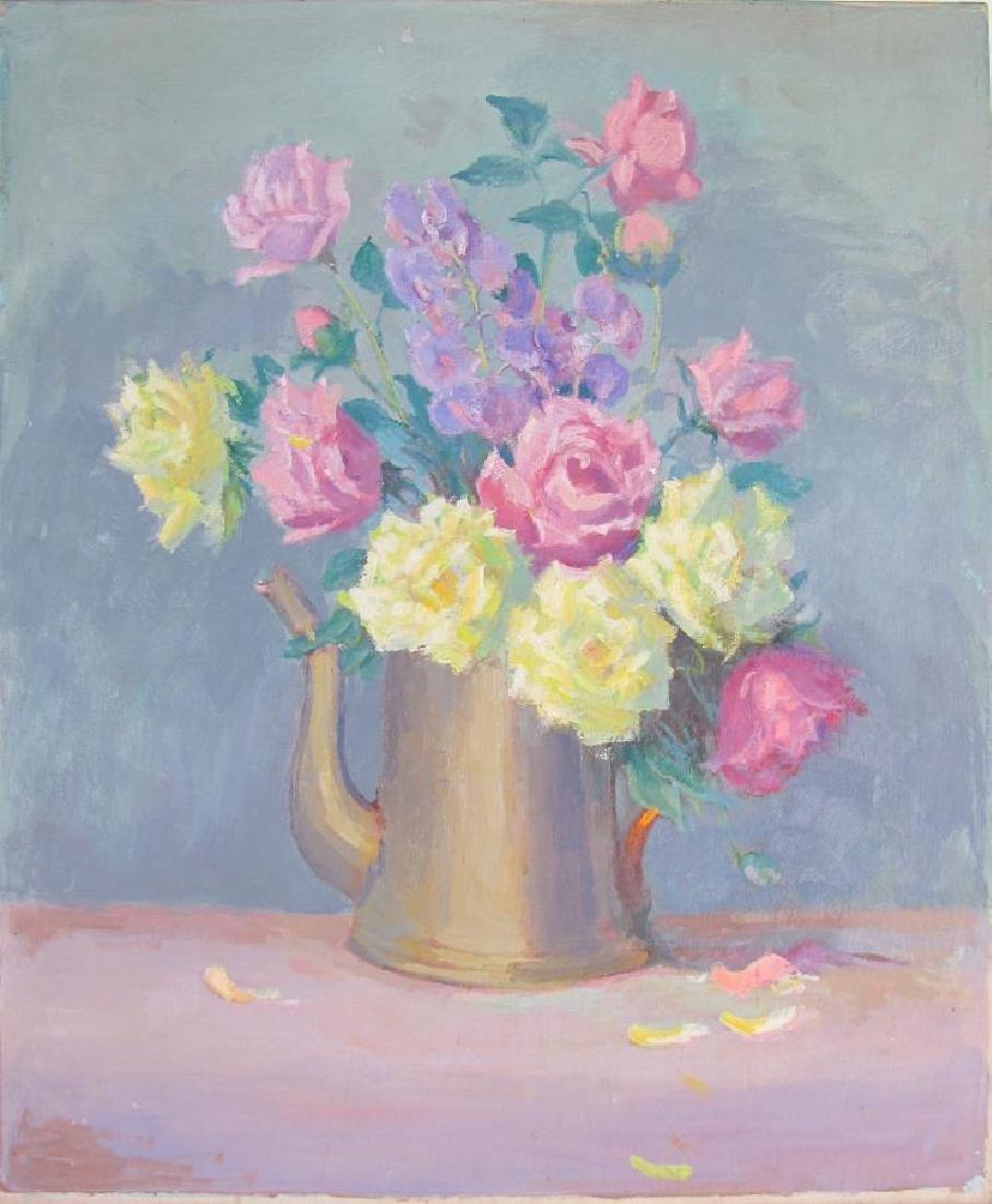 Alton Coffey 24x20 O/B (2) Floral Still Lifes - 3