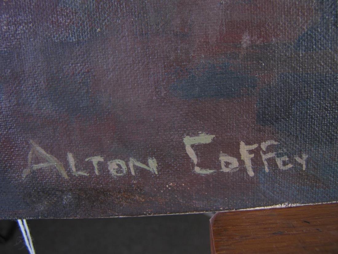Alton P Coffey (2) 20x16 O/B Floral Still Lifes - 4