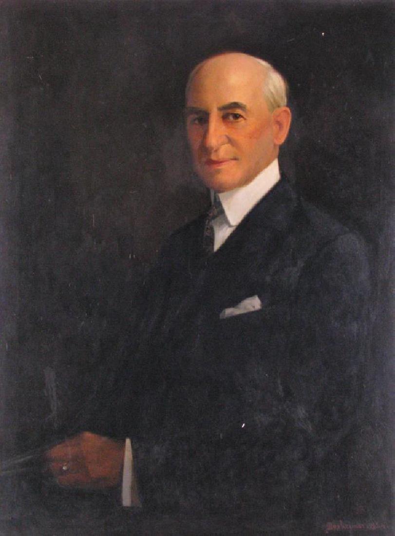 Dexheimer 40x30 O/C Portrait of Man