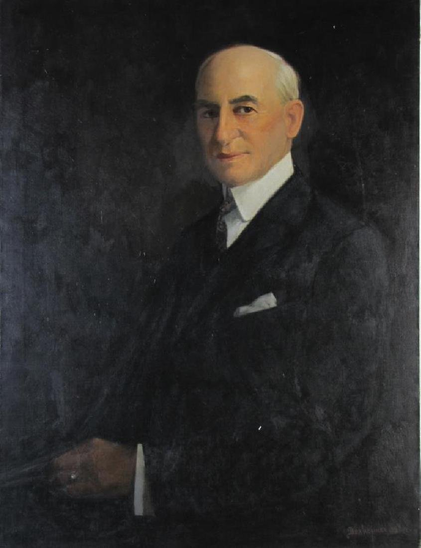 Dexheimer 40x30 O/C Portrait of Man - 3