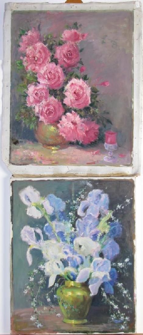 Alton P Coffey 20x16 O/C (2) Floral Still Lifes
