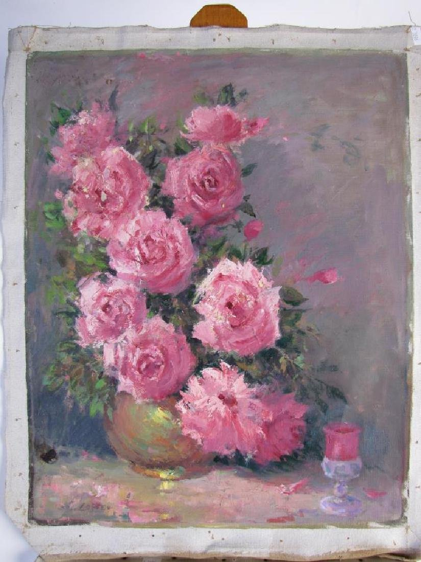 Alton P Coffey 20x16 O/C (2) Floral Still Lifes - 3