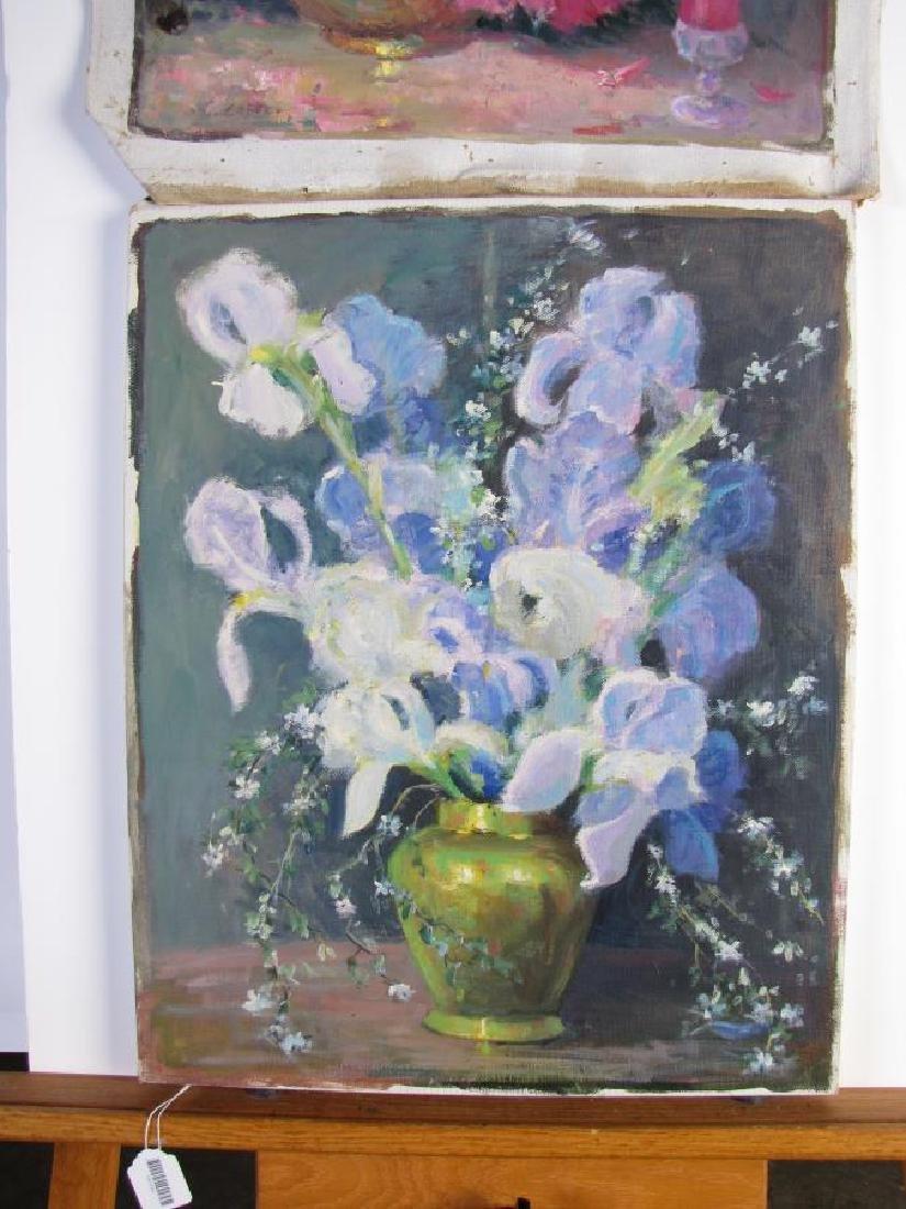 Alton P Coffey 20x16 O/C (2) Floral Still Lifes - 4