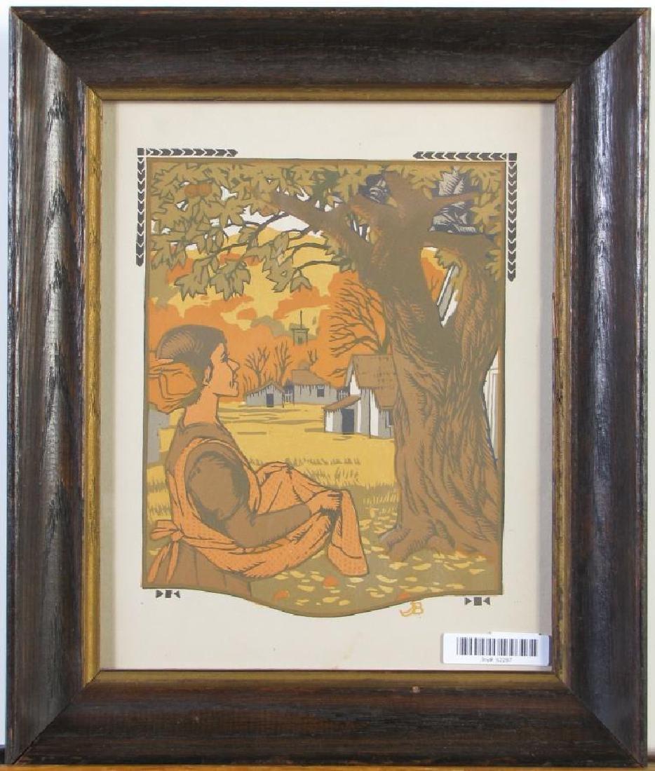 Gustav Baumann Book Illustration
