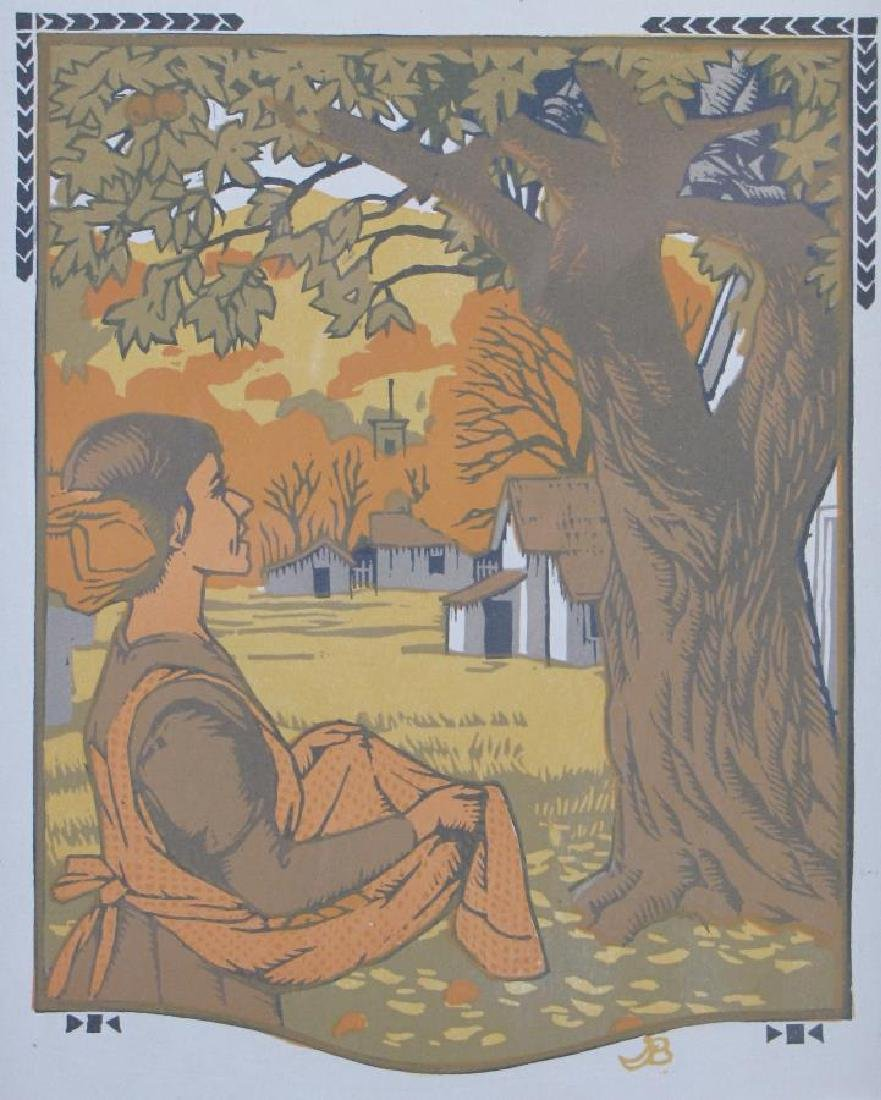 Gustav Baumann Book Illustration - 2