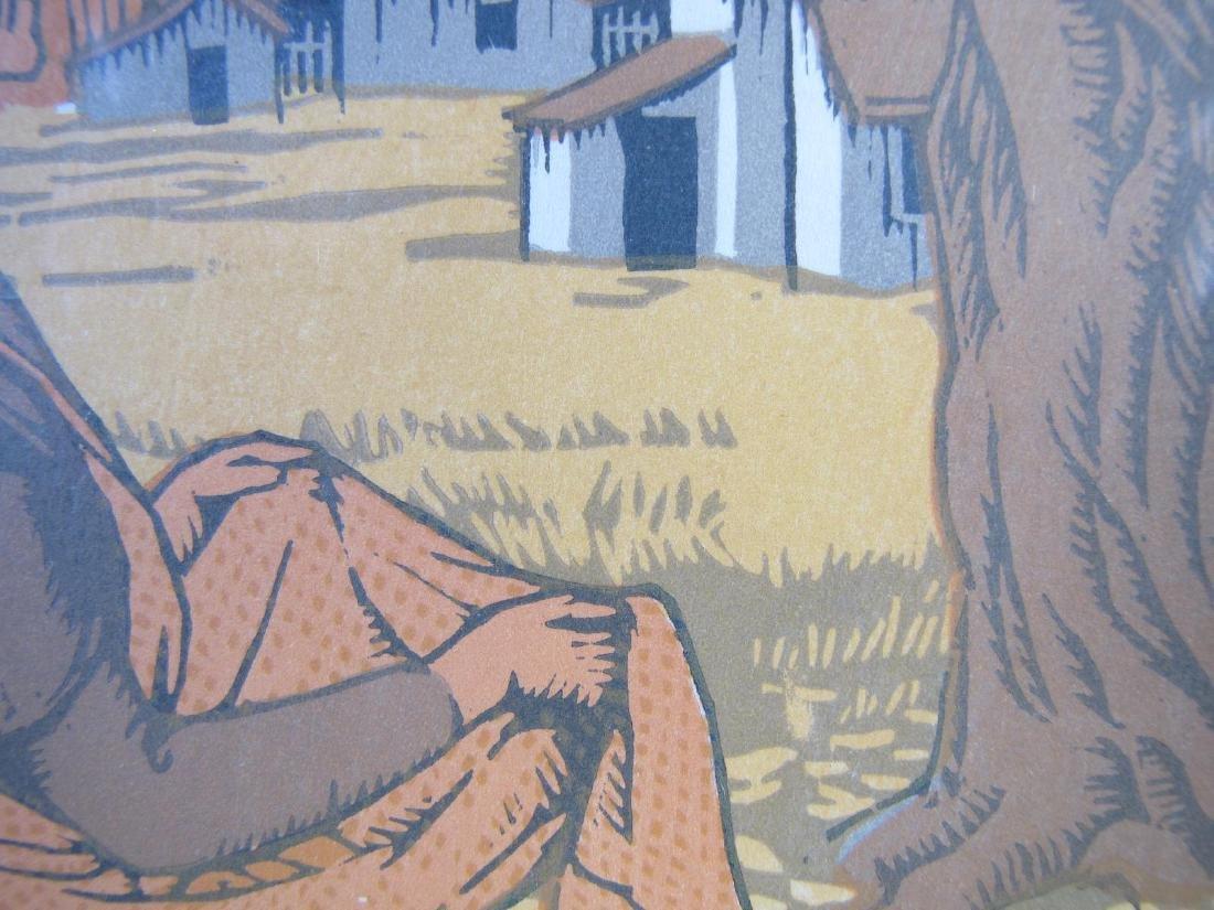 Gustav Baumann Book Illustration - 3