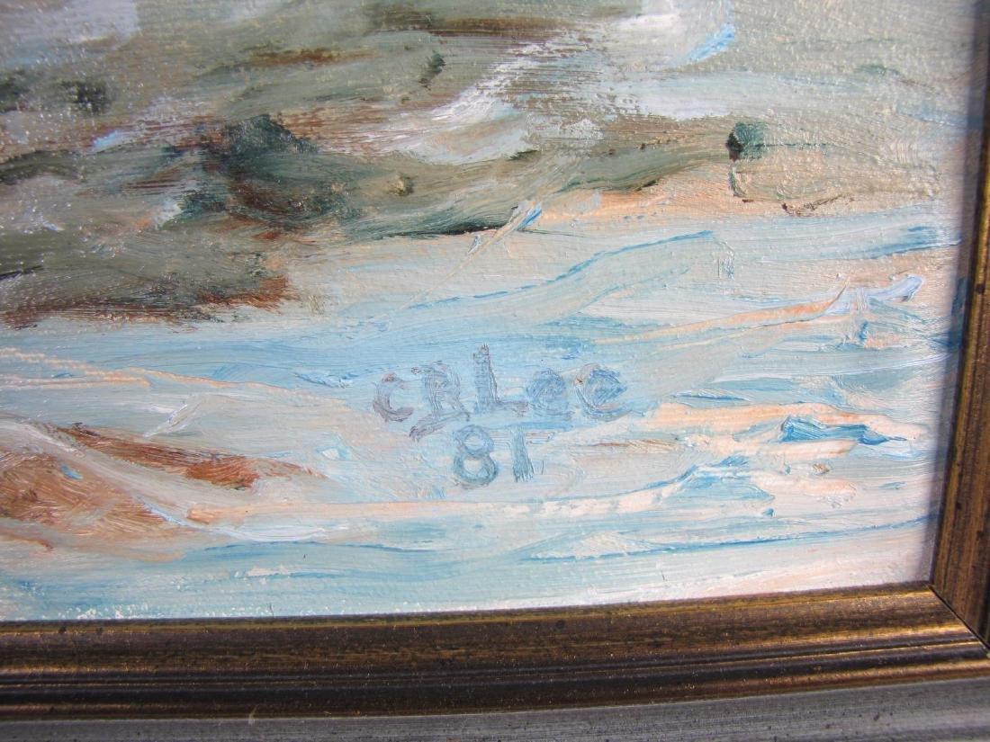 C.B. Lee 16x20 Oil on Board - 4