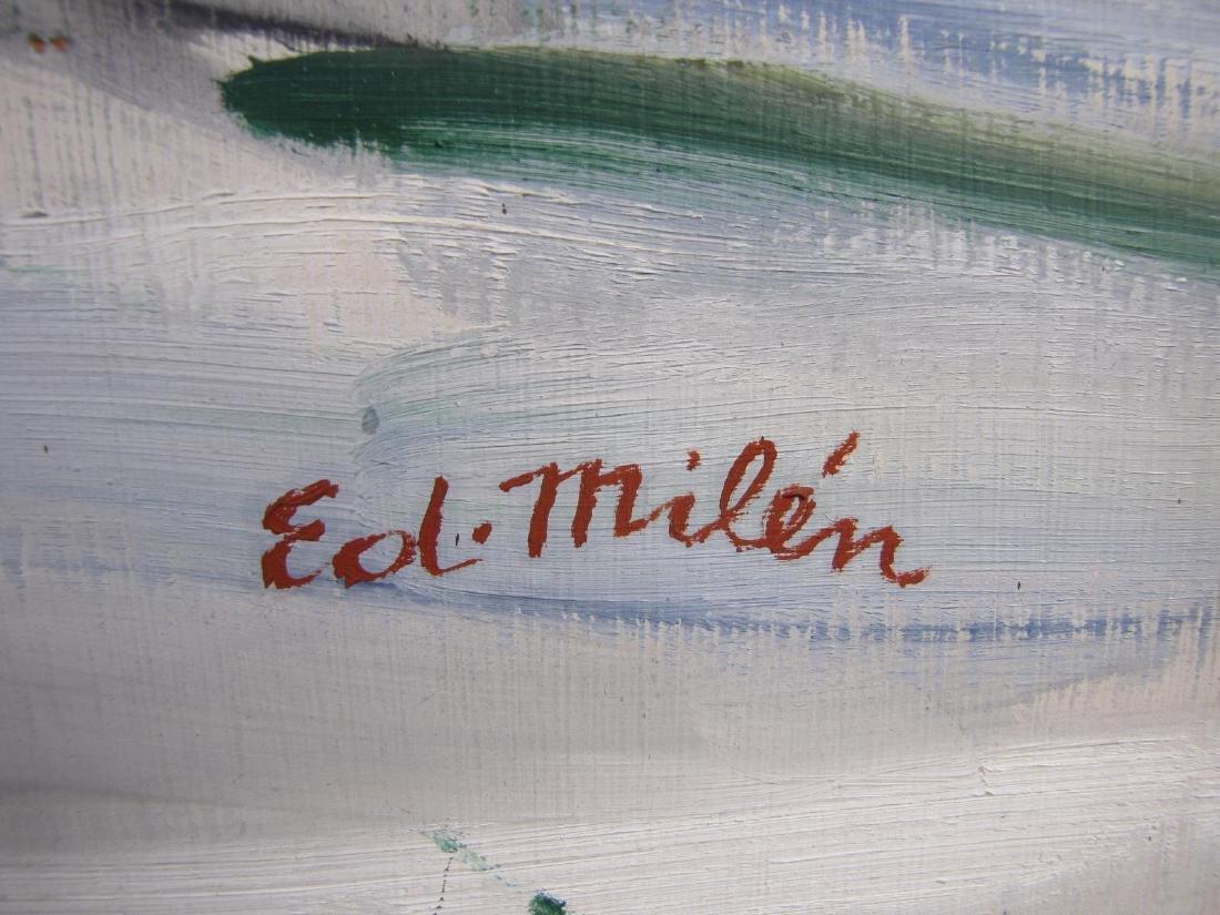 Eduard Milen 40x32 O/B Still Life - 4