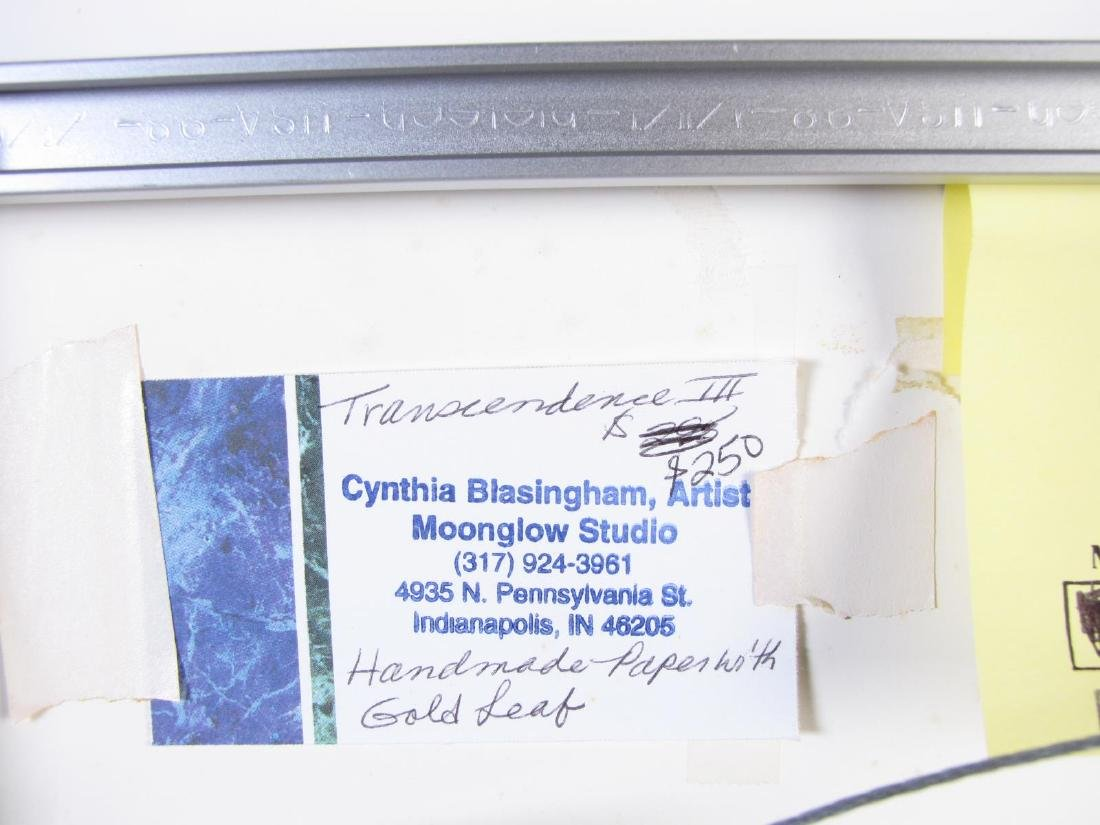 "Cynthia Blasingham 11x11 MixMed ""Transcendence"" - 5"