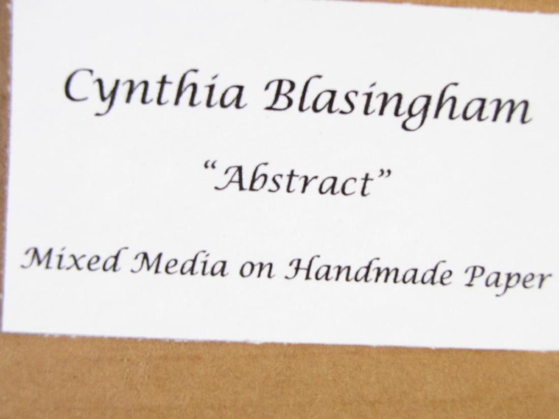 "Cynthia Blasingham 12x12 MixMed ""Abstract"" - 4"