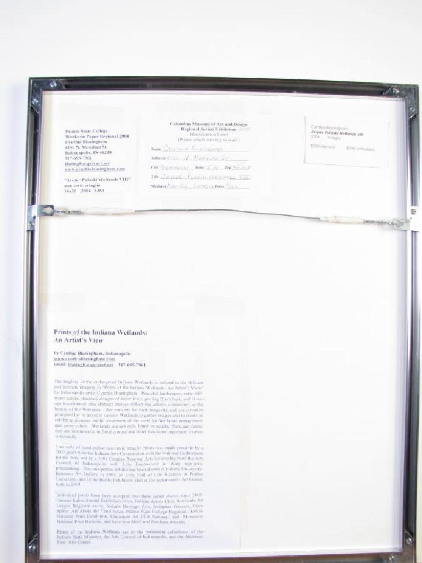 Cynthia Blasingham Intaglio Print, Juried - 5