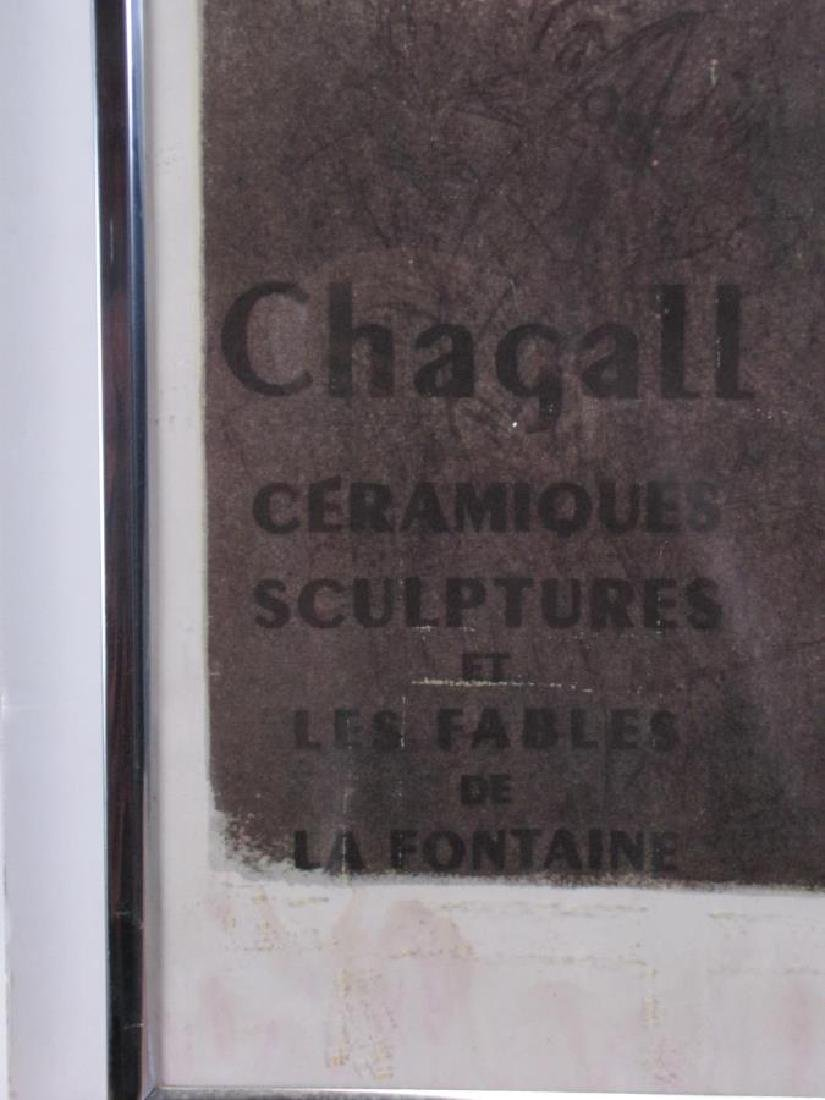 Reproduction Chagall Exhibition Poster - 3