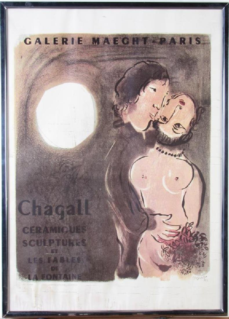 Reproduction Chagall Exhibition Poster - 6