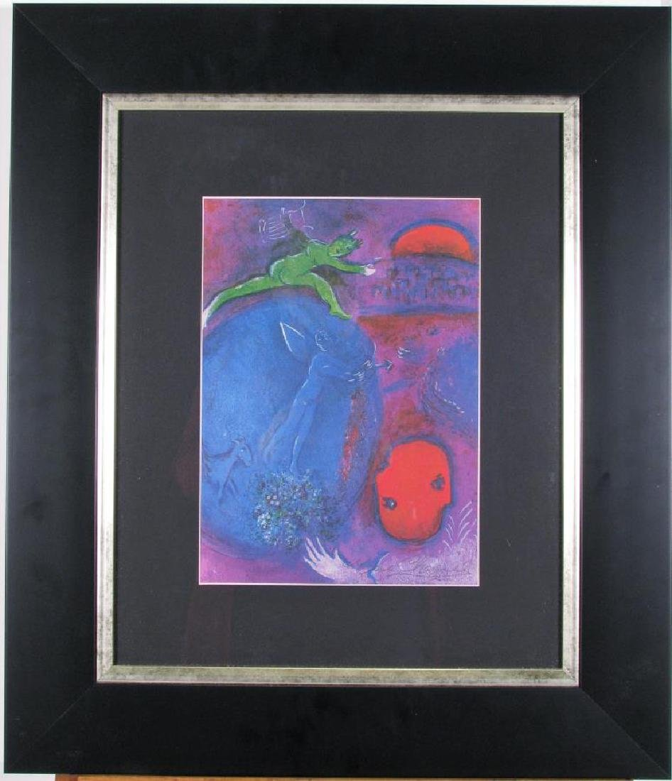 After Chagall Lithograph, Lamon's and Dryas' Dream - 2