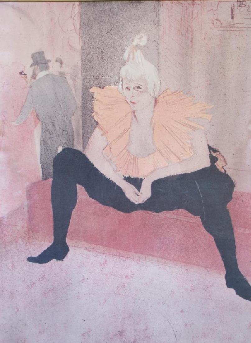 Toulouse-Lautrec Framed Print