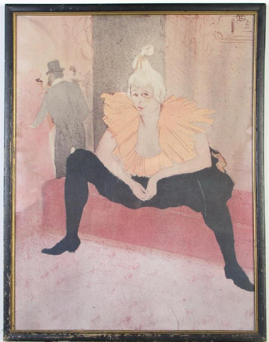 Toulouse-Lautrec Framed Print - 2