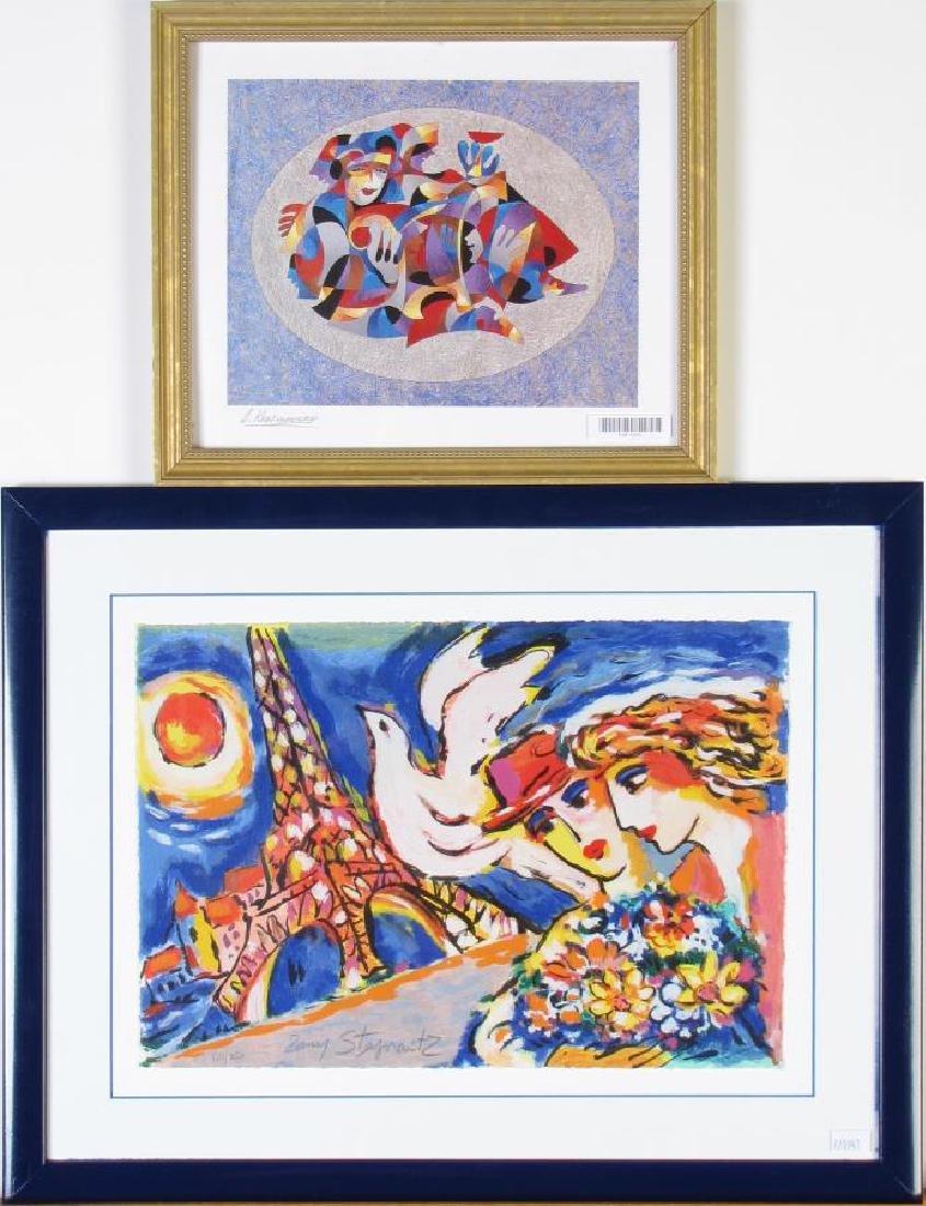 Two Limited Serigraphs, Steynovitz, Krasnyansky