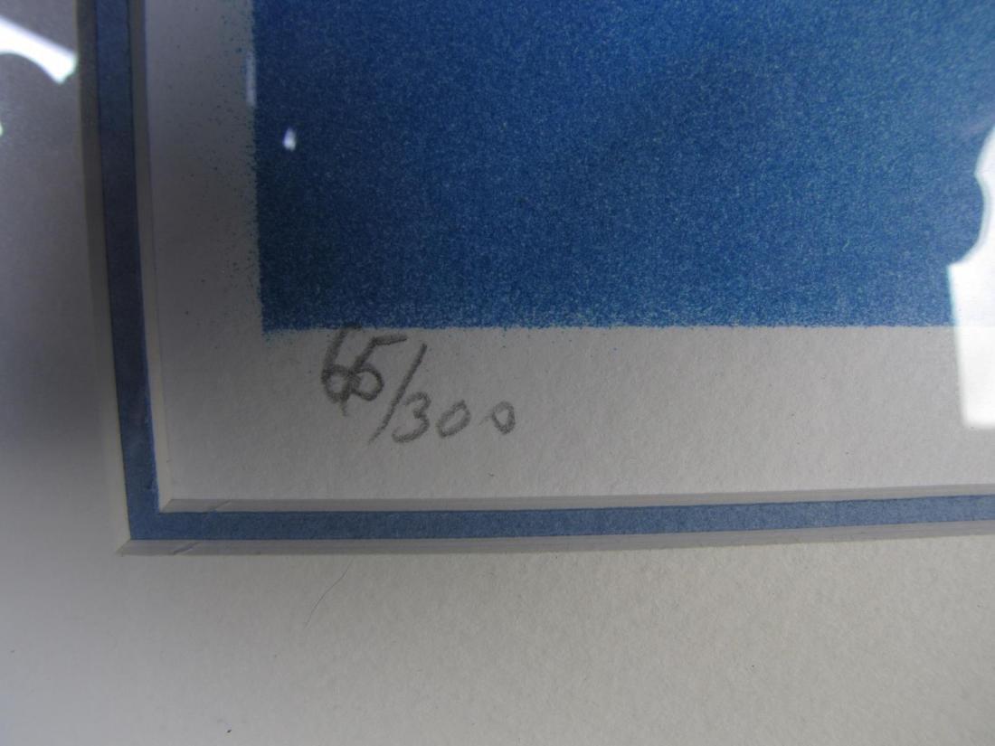 Pair of Signed Lithographs, Laszlo Dus - 5