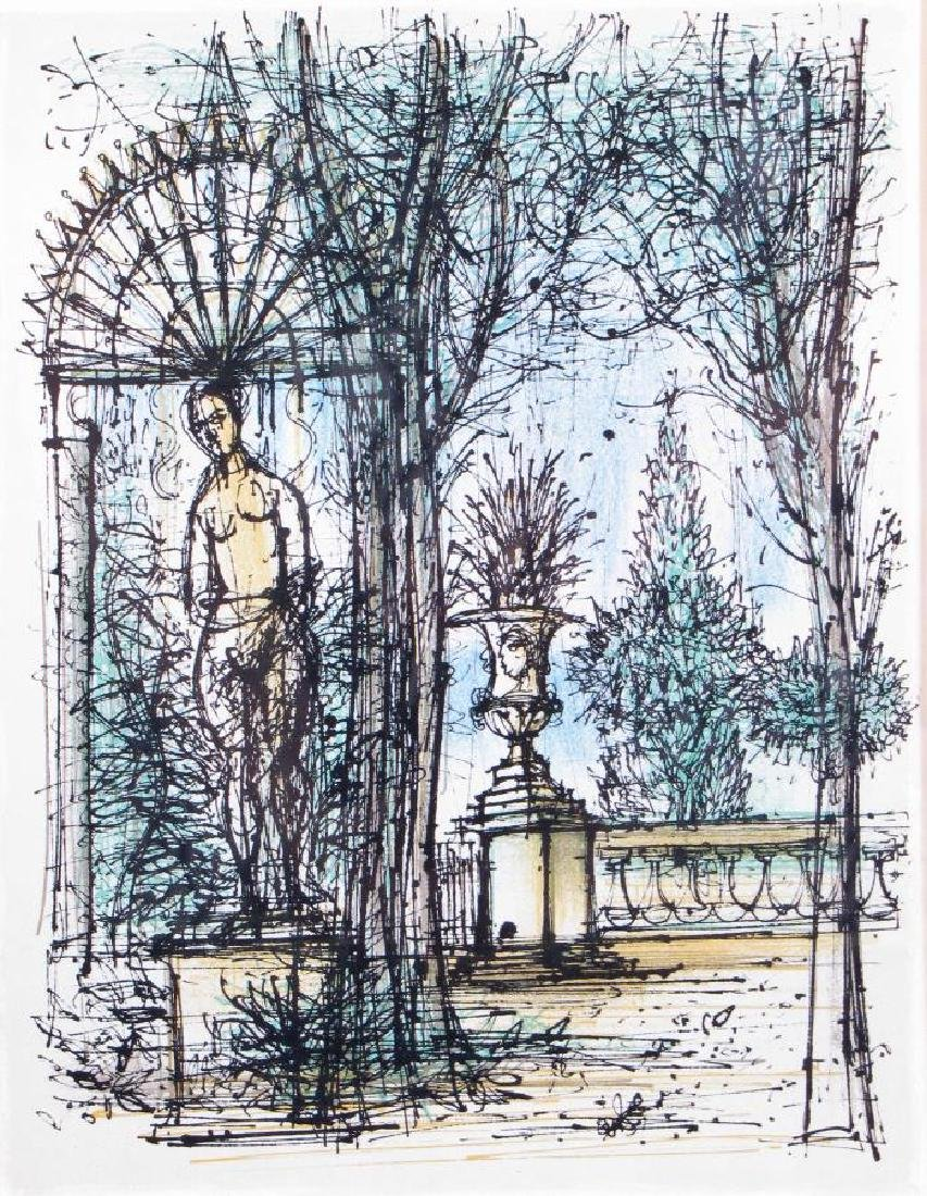 "Jean Carzou Lithograph in Colors, ""Jardin"" - 2"