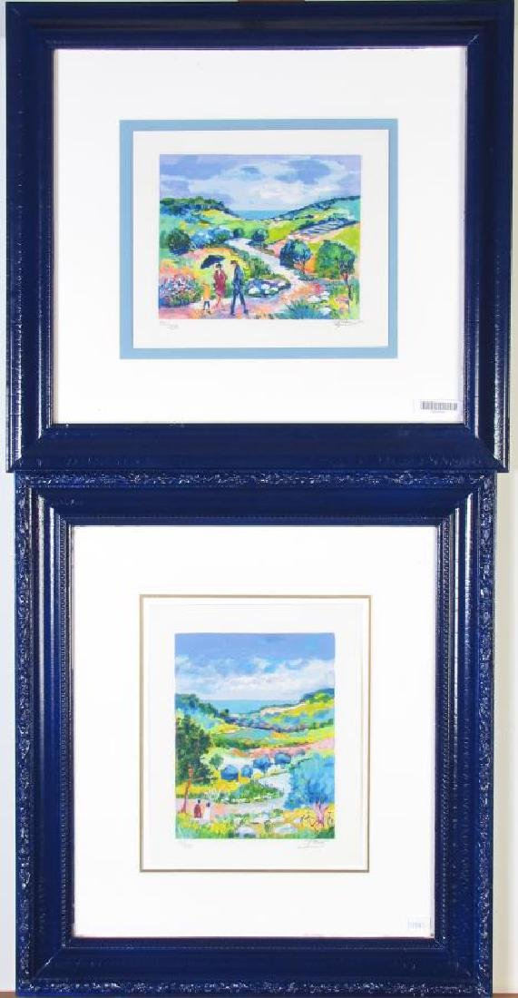 Two framed Serigraphs, Jean Claude Picot - 3