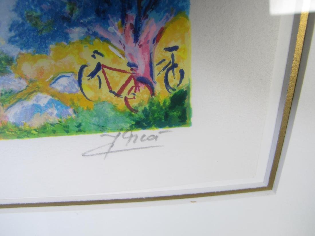 Two framed Serigraphs, Jean Claude Picot - 4