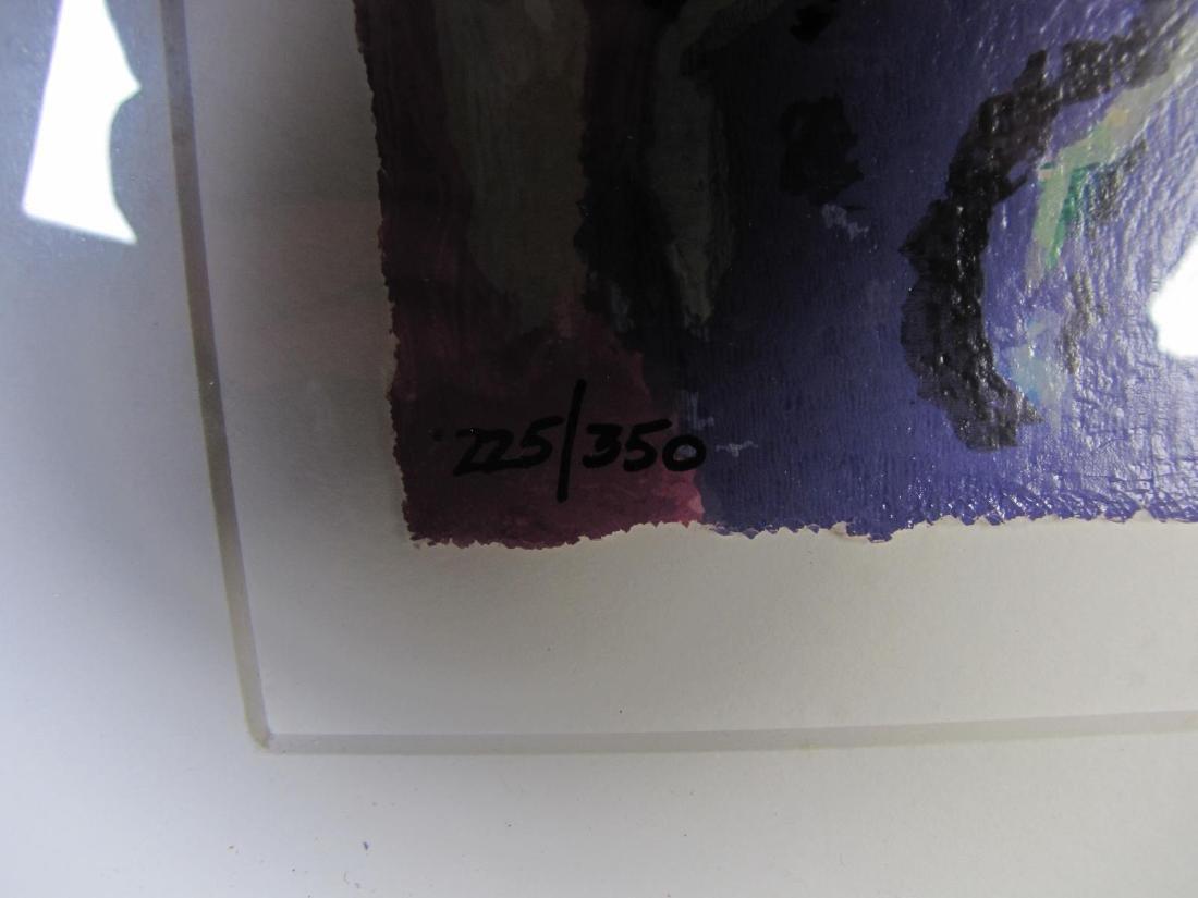 "Zamy Steynovitz ""Woman at the Window"" Serigraph - 5"