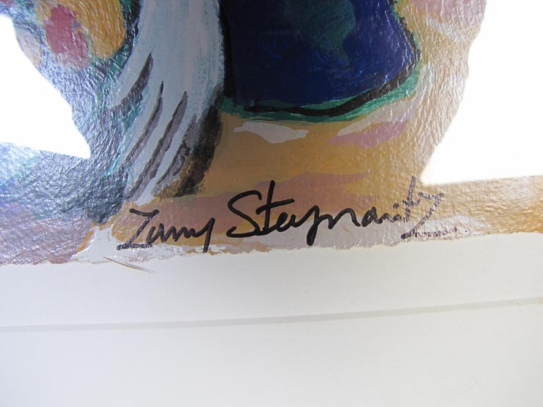 "Zamy Steynovitz ""Woman at the Window"" Serigraph - 6"