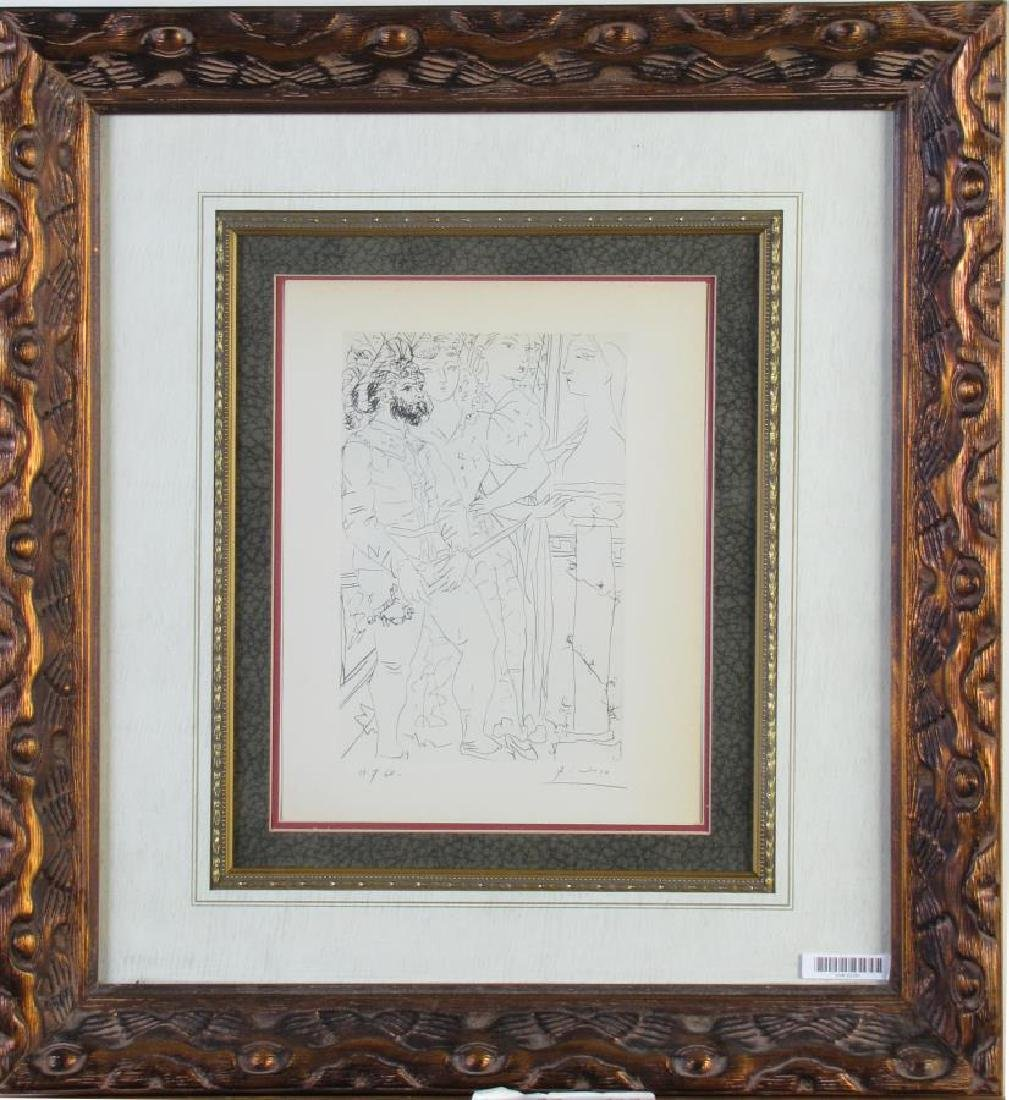 """Picasso Lithograph, from """"Suite Vollard"""""""