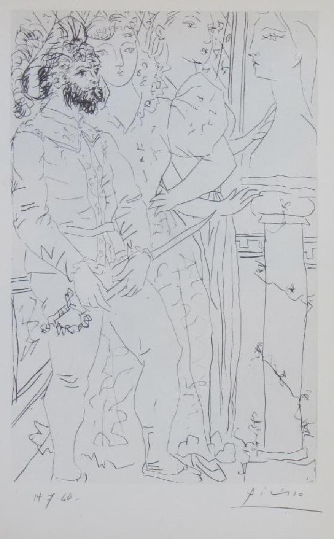 """Picasso Lithograph, from """"Suite Vollard"""" - 3"""