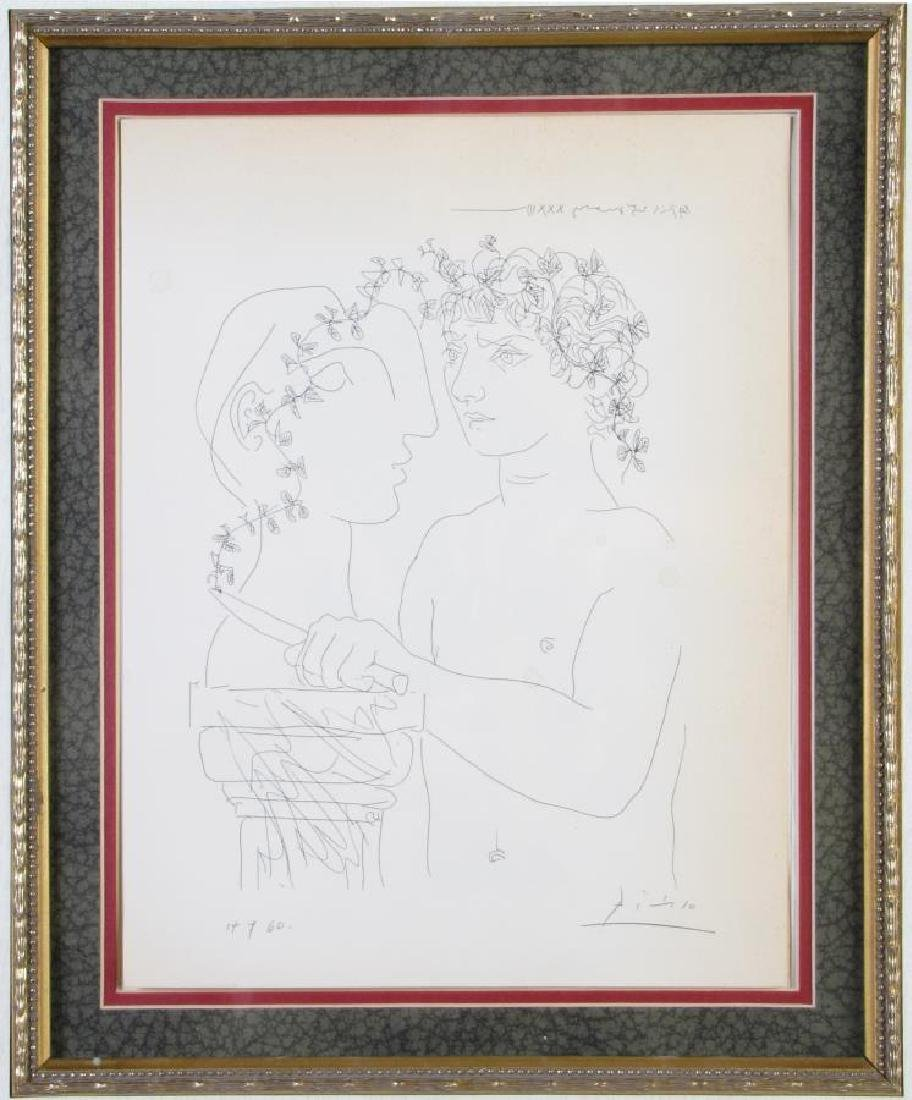 """Picasso Lithograph, from """"Suite Vollard"""" - 9"""