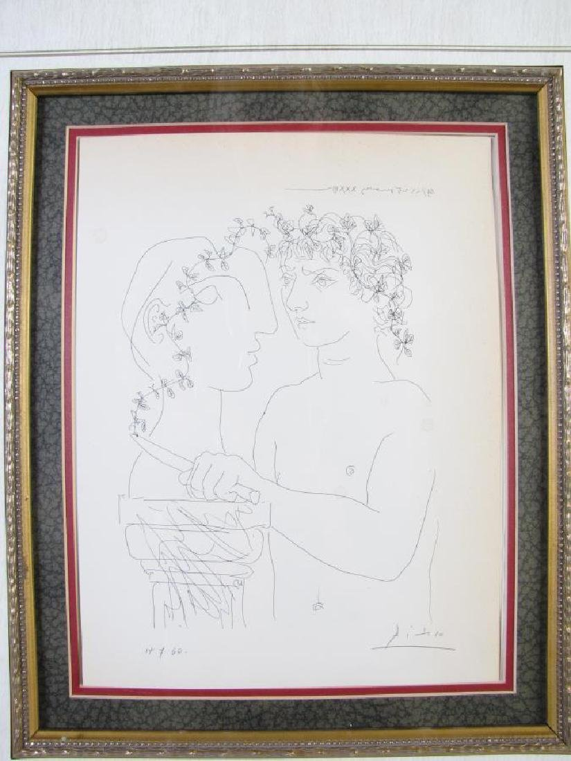 """Picasso Lithograph, from """"Suite Vollard"""" - 2"""